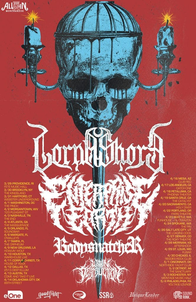 Lorna Shore announce Co-Headlining Tour with Enterprise Earth
