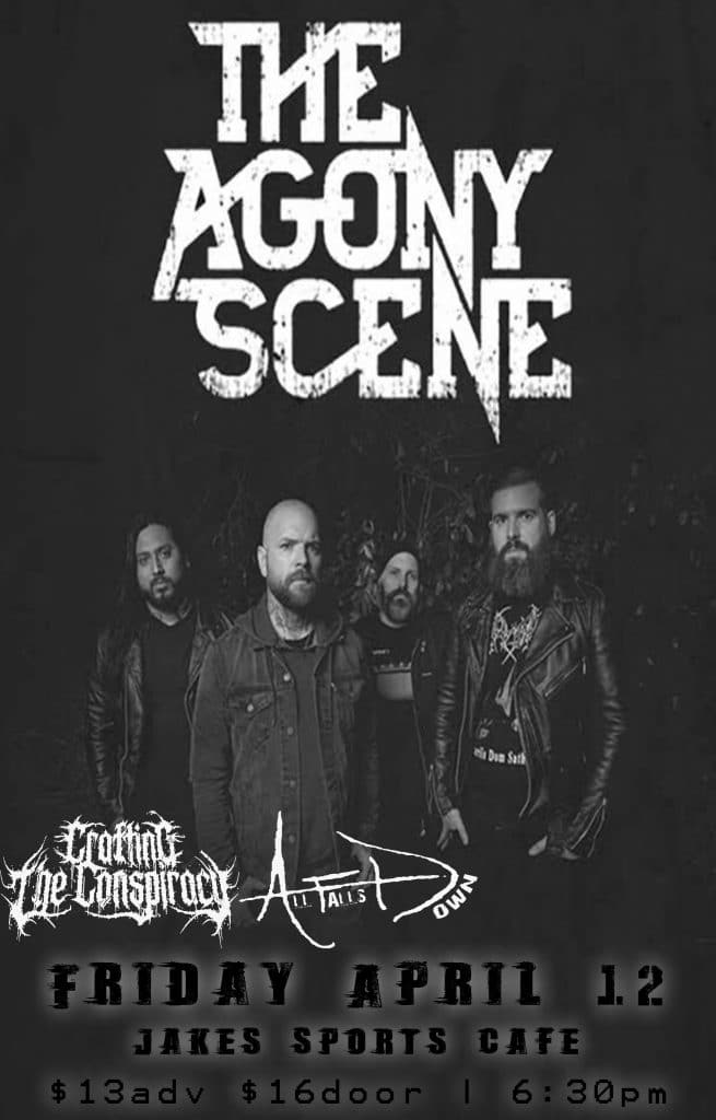 JUST ADDED: The Agony Scene - Lubbock, TX - April 12