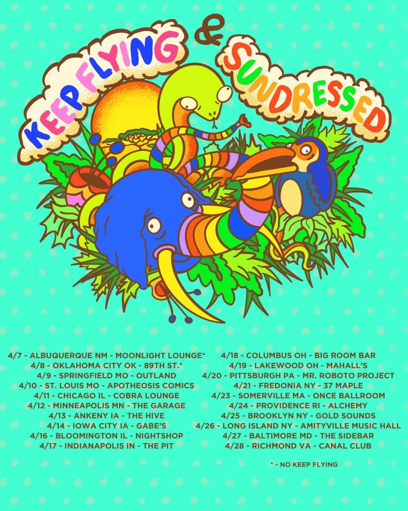 Sundressed & Keep Flying On Tour This April